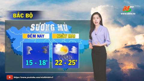 Bản tin Dự báo thời tiết mới nhất ngày - 22/02/2021