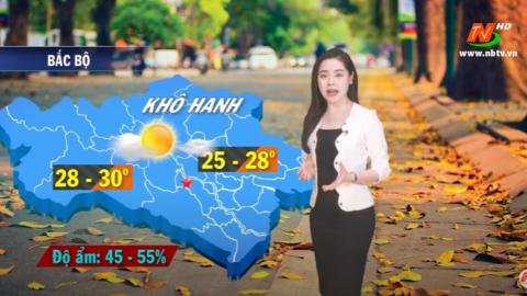 Bản tin Dự báo thời tiết mới nhất ngày - 22/10/2020