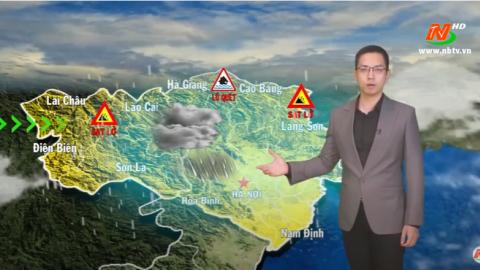 Bản tin Dự báo thời tiết mới nhất ngày - 23/09/2020