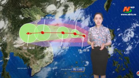 Bản tin Dự báo thời tiết mới nhất ngày - 23/10/2020