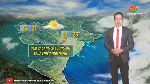 Bản tin Dự báo thời tiết mới nhất ngày - 24/01/2021