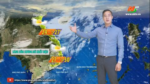 Bản tin Dự báo thời tiết mới nhất ngày - 24/02/2021