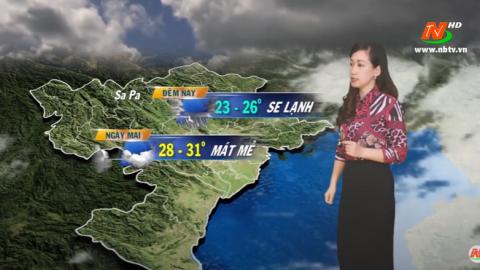 Bản tin Dự báo thời tiết mới nhất ngày - 24/09/2020
