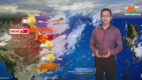 Bản tin Dự báo thời tiết mới nhất ngày - 25/06/2020