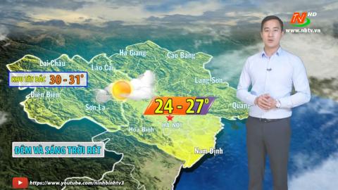 Bản tin Dự báo thời tiết mới nhất ngày - 26/02/2021