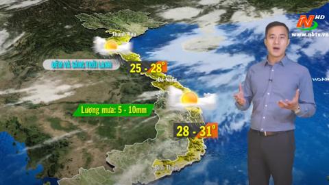 Bản tin Dự báo thời tiết mới nhất ngày - 26/11/2020