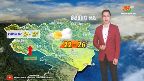 Bản tin Dự báo thời tiết mới nhất ngày - 27/01/2021