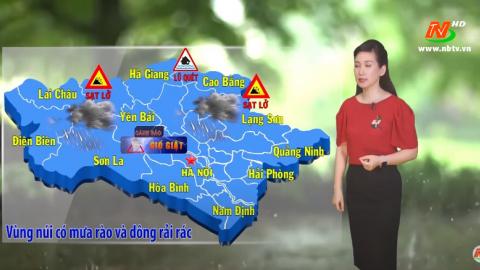 Bản tin Dự báo thời tiết mới nhất ngày - 27/07/2020
