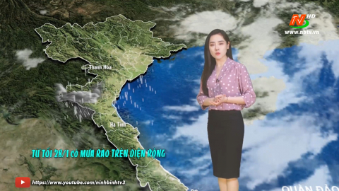 Bản tin Dự báo thời tiết mới nhất ngày - 28/01/2021