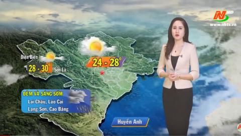Bản tin Dự báo thời tiết mới nhất ngày - 28/02/2020