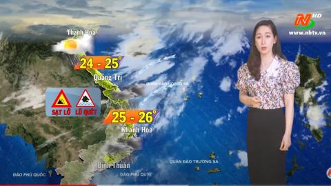 Bản tin Dự báo thời tiết mới nhất ngày - 30/11/2020