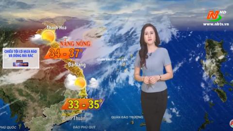 Bản tin Dự báo thời tiết mới nhất ngày - 31/07/2020