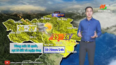 Bản tin Dự báo thời tiết mới nhất ngày - 5/5/2021