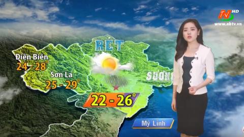 Bản tin Dự báo thời tiết mới nhất ngày mai - 24/02/2020