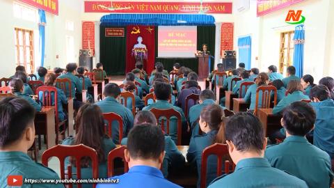 Bế giảng lớp Bồi dưỡng chuyên môn nghiệp vụ Quân sự