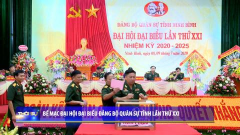 Bế mạc Đại hội đại biểu Đảng bộ Quân sự tỉnh lần thứ XXI