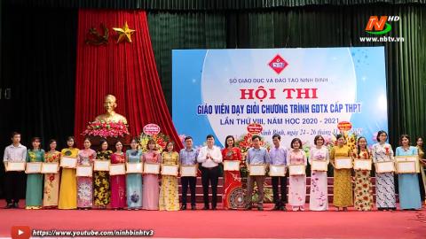 Bế mạc hội thi giáo viên dạy giỏi chương trình GDTX cấp THPT