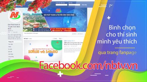 Bình chọn trên Facebook.com/nbtv.vn Liên hoan tiếng hát Hoa phượng đỏ tỉnh Ninh Bình 2020