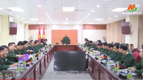 Bộ chỉ huy quân sự Tỉnh xây dựng đơn vị vững mạnh toàn diện