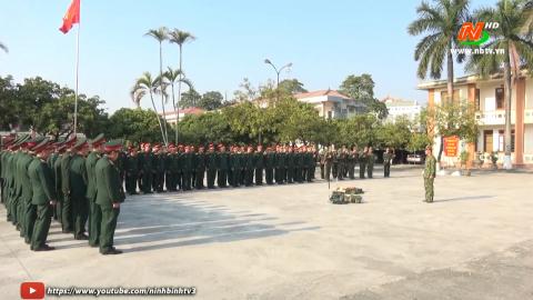 Bộ CHQS tỉnh bế mạc tập huấn cán bộ năm 2021