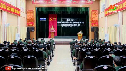 Bộ CHQS tỉnh hiệp đồng triển khai công tác bầu cử.