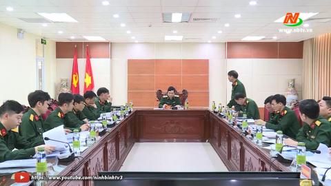 Bộ Tư lệnh Quân khu 3 kiểm tra công tác chính sách đối với Quân đội tại Ninh Bình
