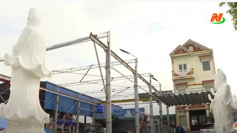 Các vấn đề xã hội: Đảm bảo an toàn hành lang lưới điện cao áp