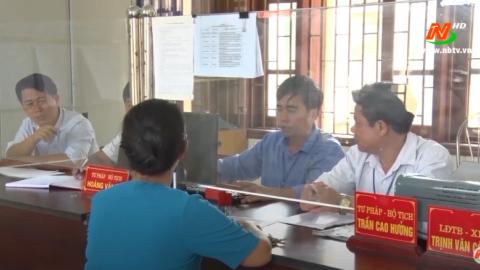 Cải cách hành chính: Kim Sơn tập trung thực hiện nhiệm vụ cải cách hành chính
