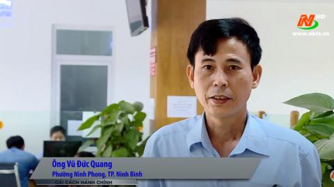 Cải cách hành chính: Nét đẹp trong thực hiện văn hóa công vụ ở thành phố Ninh Bình