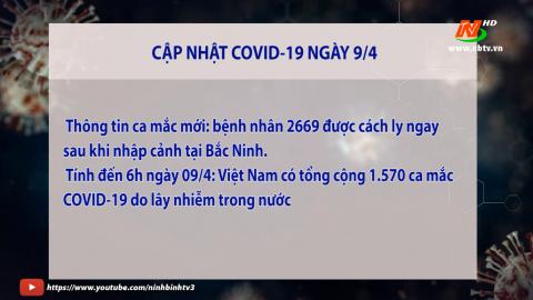 Cập nhật COVID 19