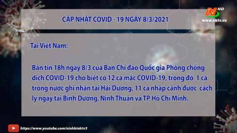 Cập nhật Covid 19 mới nhất ngày 8/3 - trong nước và tỉnh Ninh Bình