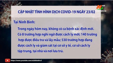 Cập nhật COVID-19 ngày 23/02/2021