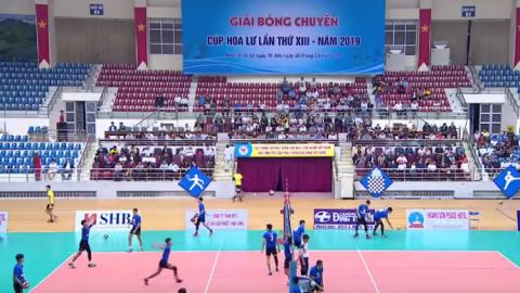 Chung kết | Tràng An Ninh Bình - Hà Tĩnh - Giải bóng chuyền Cup Hoa Lư lần thứ XIII năm 2019