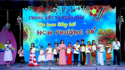 Chung kết và trao giải Liên hoan tiếng hát Hoa phượng đỏ tỉnh Ninh Bình năm 2020