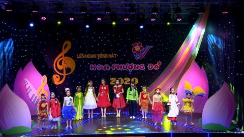 Chung khảo: Liên hoan tiếng hát Hoa Phượng đỏ tỉnh Ninh Bình năm 2020 – Buổi thứ nhất lượt 1