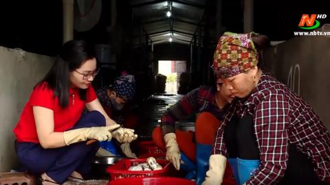 Chuyện của những người nuôi hàu giống ở Kim Trung - Kim Sơn