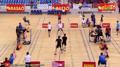 CLB Thành phố Ninh Bình - CLB phường Nam Bình - Giải cầu lông các CLB Cúp PT - TH Ninh Bình lần thứ XXIV năm 2020