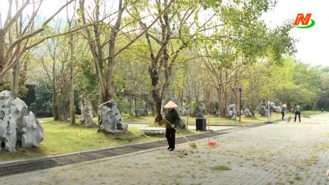 Cố Đô Hoa Lư, chùa Bái Đính chuẩn bị đón khách dự liên hoan truyền hình toàn quốc