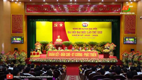 Đại hội đại biểu Đảng bộ huyện Gia Viễn lần thứ XXII