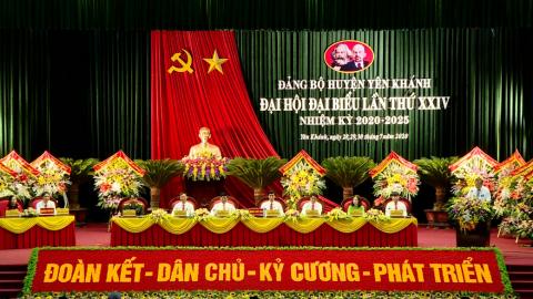 Đại hội đại biểu huyện Yên Khánh lần thứ XXIV