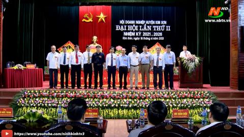 Đại hội Hội Doanh nghiệp huyện Kim Sơn lần thứ II