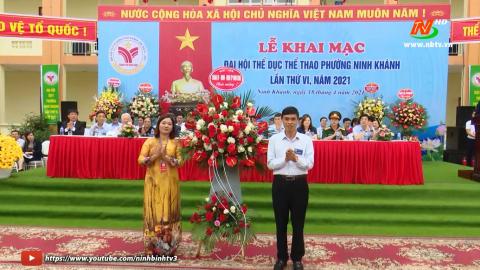 Đại hội thể dục thể thao phường Ninh Khánh lần thứ VI