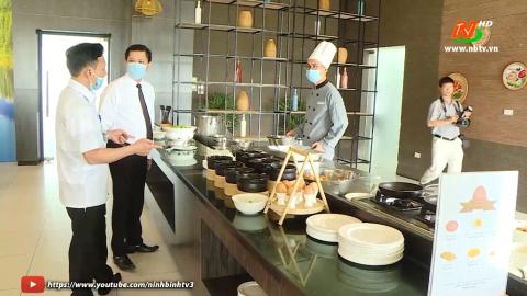 Đảm bảo an toàn thực phẩm cho lễ khai mạc Năm du lịch quốc gia và lễ hội Hoa Lư 2021