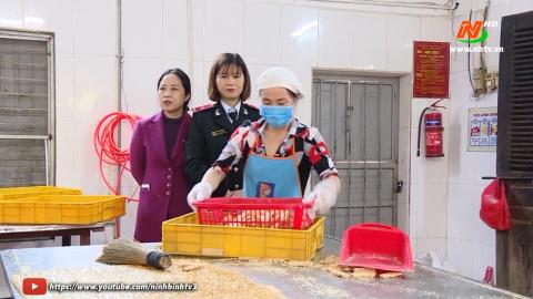 Đảm bảo vệ sinh an toàn thực phẩm dịp Tết Nguyên đán