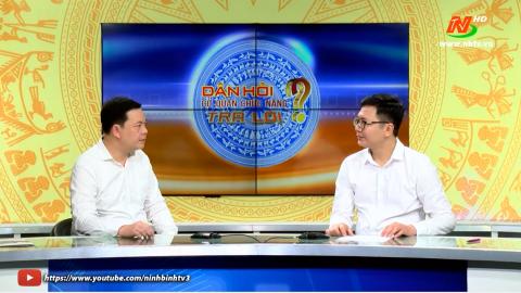 Dân hỏi Giám đốc Công ty TNHH MTV Điện lực Ninh Bình trả lời