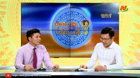 Dân hỏi Ông Giám đốc sở Văn hóa Thể thao trả lời về công tác chuẩn bị Lễ hội Hoa Lư