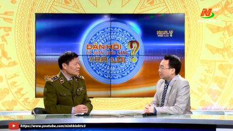 Dân hỏi:  Phó cục trưởng Cục quản lý thị trường Ninh Bình trả lời