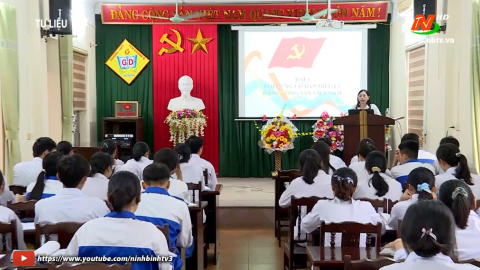 Đảng trong cuộc sống hôm nay: Đảng bộ Yên Khánh phát triển và nâng cao chất lượng đội ngũ đảng viên.