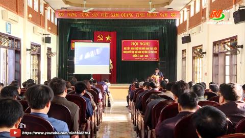 Đảng trong cuộc sống hôm nay: Đổi mới, nâng cao chất lượng học tập, quán triệt Nghị quyết của Đảng