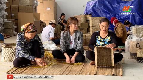 Đất và Người Hoa Lư: Thăm làng nghề dệt cói Kim Sơn